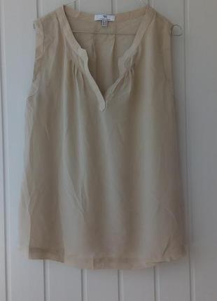 Шелковый топ, блуза