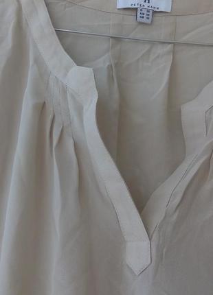 Шелковый топ, блуза2 фото