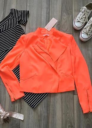 Красивенный ультрамариновый пиджак dovely&jo