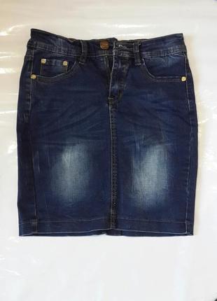 Юбка спідниця джинсова