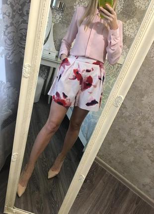 Юбка-шорты zara с карманами