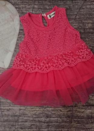 Платье spunky kids 1-6мес