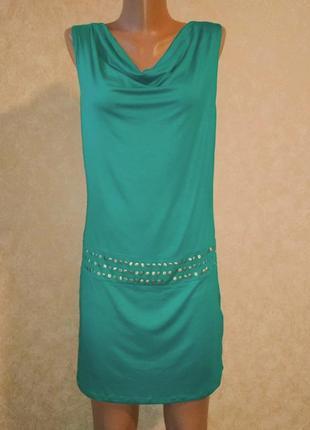 Женское летнее трикотажное платье баллон2 фото