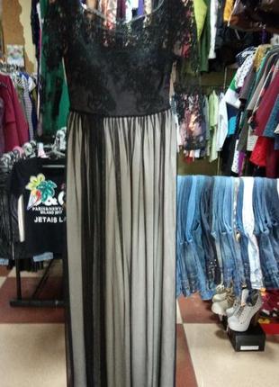 Нарядное праздничное платье кружево гипюр