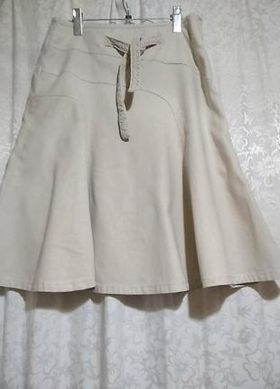 Льняная юбка next
