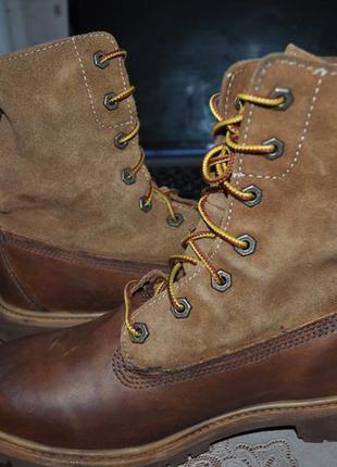 Крутые ботинки timberland демисезон