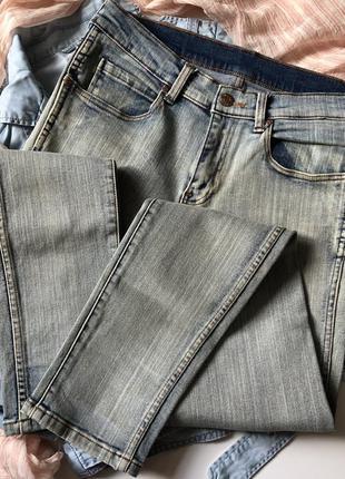 Новые джинсы с высокой талией посадкой скинни италия denim bershka