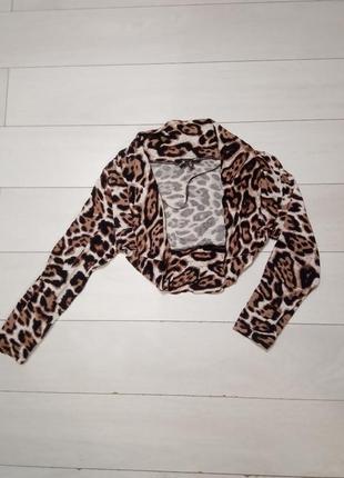 Леопардовое болеро