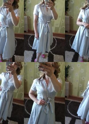 Нереальное миди платье h&m