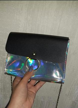 Новая голографическая сумочка
