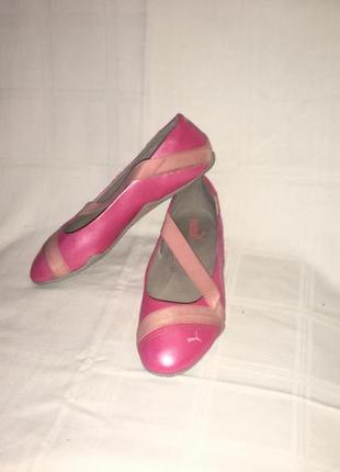 Туфли-балетки оригинал *puma* вьетнам р.38 (25.00)