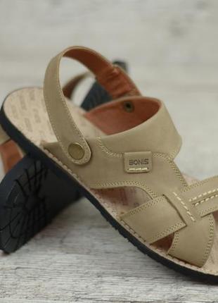 Мужские кожаные сандалии, босоножки bonis 25 ол
