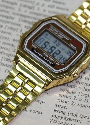 Молодежные часы золотистые (легенда)