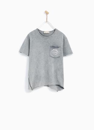 Модная футболка zara, р.11-12 лет