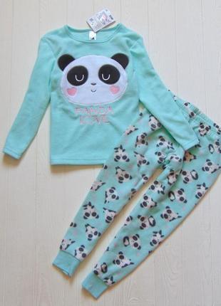 C&a. размер 5 лет, рост 110 см. новая флисовая пижамка для девочки