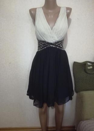 Супер красивое платье выпускной свадьба корпоратив р.14/12/10 new look