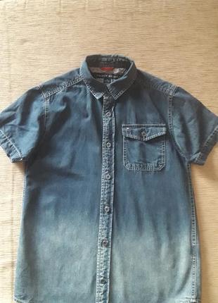Tommy hilfiger оригинал рубашка 152-155