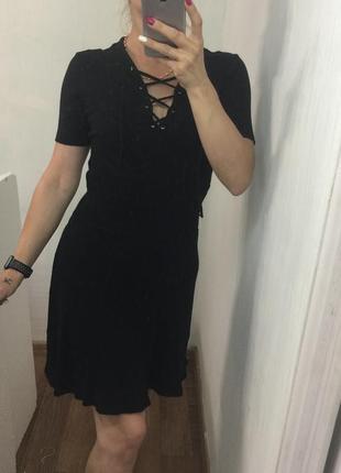 Чёрное платье2 фото