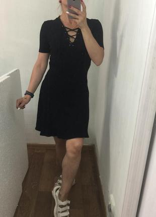 Чёрное платье1 фото