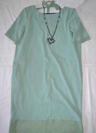 Twin set платье завязка на спине вырез италия