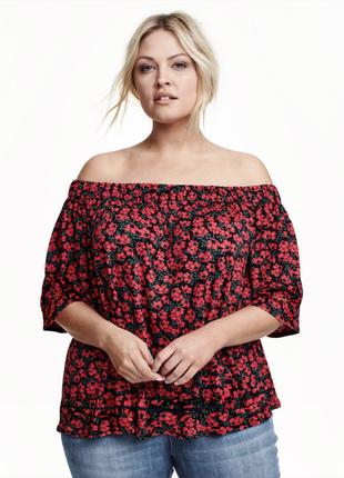 Классная блуза, h& m , большой размер