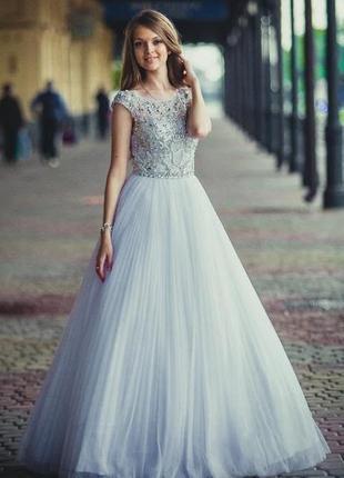 Выпускное, свадебное платье sherri hill