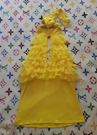 Шикарный желтый топ