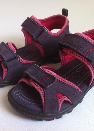 Босоножки , сандалии ecco ☀️😎 размер 25-26 оригинал ❗❗❗