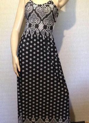 Длинное ,макси платье с открытой спиной boohoo