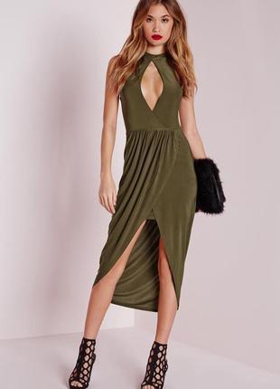 S/44 стильное платье актуальной расцветки missguided 61926