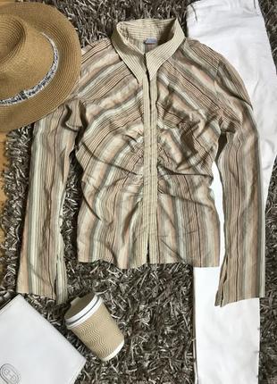 Рубашка блуза в полоску new look.