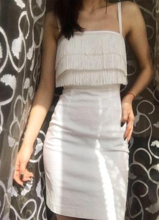 Лляне плаття h&m