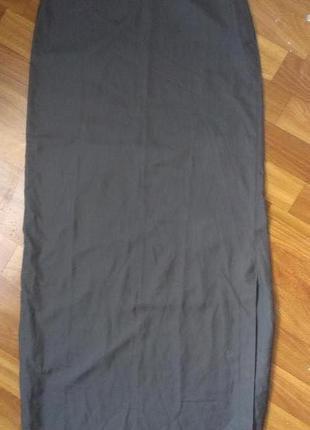 Спортивная длиннавя юбка под кроссовки или сникерсы