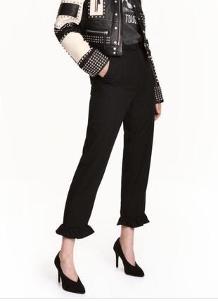 Стильные легкие брюки h&m