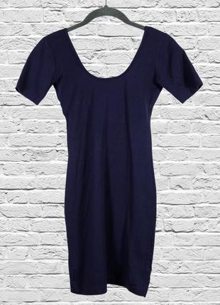 Приталенное платье короткое, летнее платье в обтяжку
