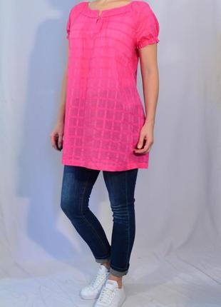 1638\20 розовая блуза m&s xxl