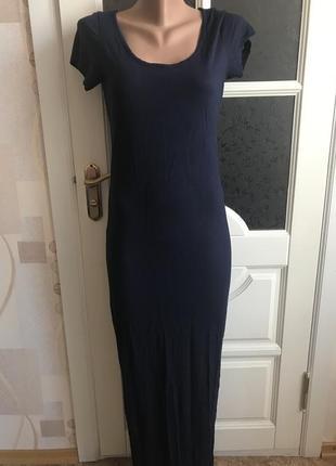 Платье макси по фигурке