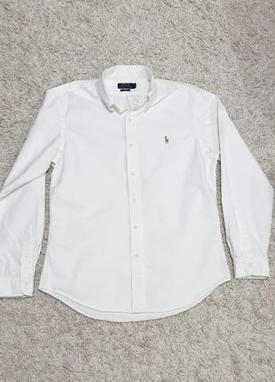 Брендовая мужская рубашка ralph lauren   100% оригинал фирменная идеал
