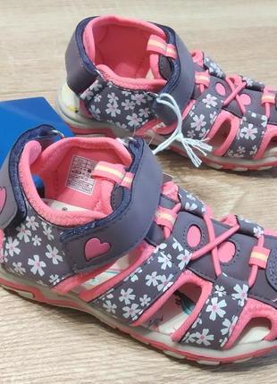 Босоножки сандалии на липучках lupilu