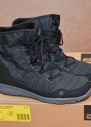 Ботинки jack wolfskin portland boot w р. 37.53 фото