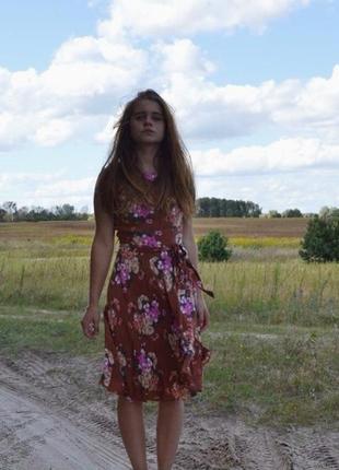 Крутое винтажное платье