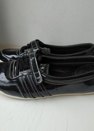 Туфли балетки мокасины adidas 36р. 23 см. оригинал