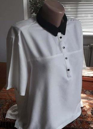 Классная блуза. германия.  52-54р состояние новой.