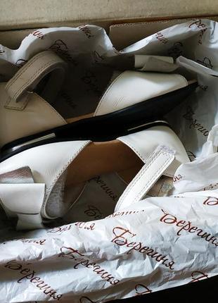 Босоножки, туфли из натуральной кожи