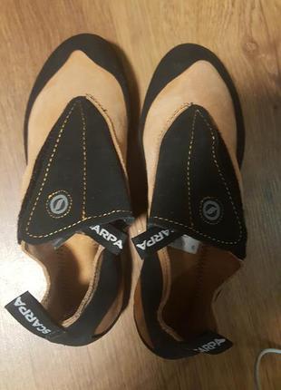 Туфли для скал    кожа  scarpa