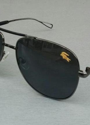 Lacoste очки капли мужские солнцезащитные черные