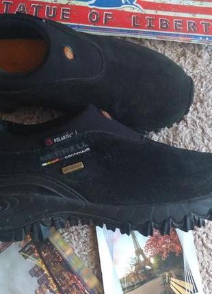 Кроссовки merrell 37 р 23.5 см спортивные туфли с polartec трекинг vibram waterproof