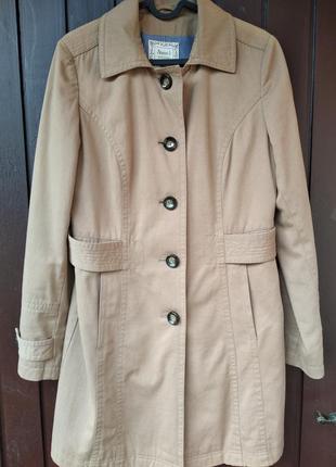 Пальто, тренч цвет кемел