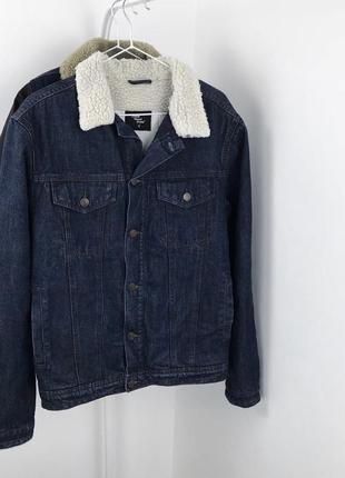 Мужская шерпа cedarwood state джинсовая куртка джинсовка