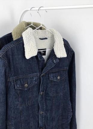 Мужская шерпа cedarwood state джинсовая куртка джинсовка2 фото